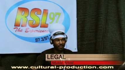 Interview on Reggae Vybz at Radio Saint-Lucia (RSL 97.3FM) [CULTURAL PROD] May 2013