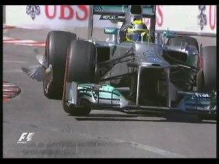 Monaco 2013 : pigeon sur la piste