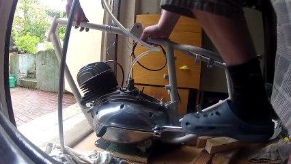 Oživení motoru ČZ 150c