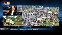 BFM Politique Laurent Wauquiez face à Jean-Luc Romero - 26/05