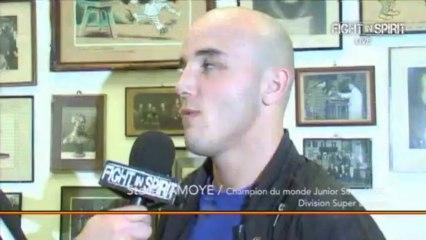 ITV.BOXEUR.Steve JAMOYE Champion du Monde WBC Junior Division  Super-Légers.