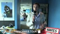 [FrenchWeb Tour Nantes] Julien Hervouet, co-fondateur d' iAdvize