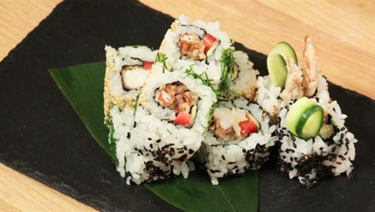 How To Make Crab Sushi Video Dailymotion