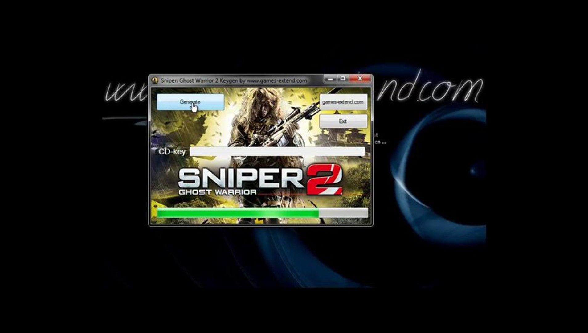 sniper ghost warrior serial number free download