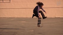 LEARNING : Varial Heelflip Trick Tip with Richie Jackson - Skateboarding Education Lesson School