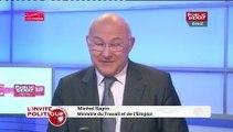 """Michel Sapin : """"L'Unédic dit que le chômage va se stabiliser."""""""
