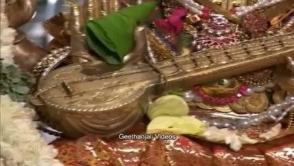 Guru Peyarchi - Goddess Saraswati, the Goddess of Knowledge