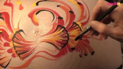 Atelier Belly painting à domicile