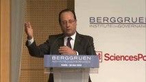François Hollande au Forum Europe Next Steps