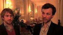 Trophées du vin: Interview d'Hugues Rondouin, caviste de l'année 2013 (Le Quinze Vins)