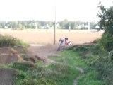 saut BMX dirt stephane baquet