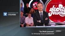 """Zapping TV du 28 mai 2013 : le dérapage d'une manifestante anti-mariage gay au """"Petit journal"""""""