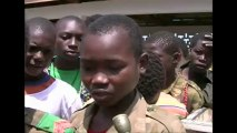 Child soldiers demobilised in Central African Republic