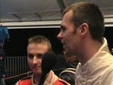 Rallye de Sombreffe 2006 - Interview