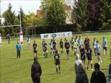 MLSP - UBM 94 Rugby Minimes U14 1ere mi-temps 1/2 finale IDF 25 mai 2013