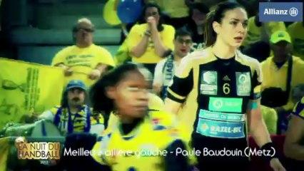 Nuit du Handball 2013 - Paule Baudouin élue meilleure ailière gauche