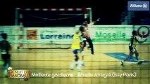 Nuit du Handball 2013 - Armelle Attingré élue meilleure gardienne
