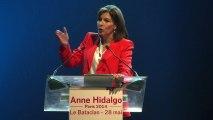 Municipales : premier meeting de campagne pour Anne Hidalgo