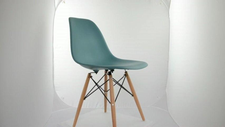 Chaise Eames DSW Vert sapin océan Editiondesign.fr