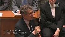 [ARCHIVE] Refondons l'École : réponse de Vincent Peillon à la députée Martine Faure lors des questions au Gouvernement à l'Assemblée nationale, le 28 mai 2013