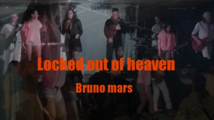 Anthracite cover  Locked out of heaven Bruno Mars orchestre vatiété Mariage 0324332310