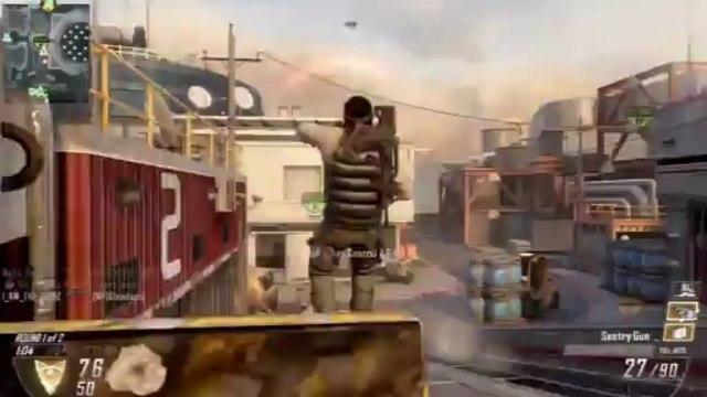 "Black Ops 2 Best Killstreak Loadout ""The Iron Defense"" [BO2 Type25 Gameplay]"