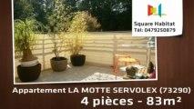 A vendre - Appartement - LA MOTTE SERVOLEX (73290) - 4 pièces - 83m²