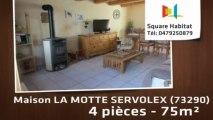 A vendre - Maison/villa - LA MOTTE SERVOLEX (73290) - 4 pièces - 75m²