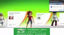Xbox Live Gold Membership - Microsoft Points Code Generator $ Générateur $ FREE Download June - July 2013 Update
