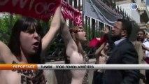 Tunisie : Trois FEMEN arrêtées