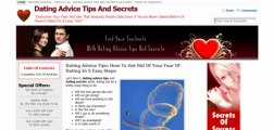 Dating Advice Tips And Secrets Review