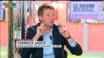 Yannick Jadot, député européen Europe-Écologie - Les Verts (EELV), Le Grand Journal - 29 mai 2/4