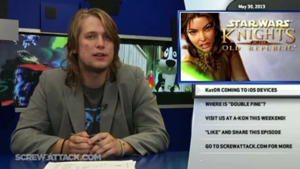 """New Sega Scented Perfume, KotOR Coming to iOS, and Where is """"Double Fine'? - Hard News Clip"""