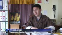 Bhutanese brave mountains and monsoon for election