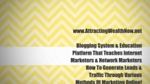Make Money With Our Blogging System. Earn An Extra Income With Our Blogging System