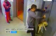 Il sauve de la mort un chien piégé par un ascenseur !