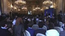 """Discours de Laurent Fabius à l'issue du concours national """"Plaidoyer pour l'abolition de la peine de mort (31.05.2013)"""