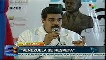 """Pdte. Maduro denuncia planes para """"llenar de violencia a Venezuela"""""""
