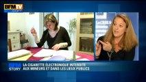 BFM STORY: La cigarette électronique interdite aux mineurs et dans les lieux publics - 31/05