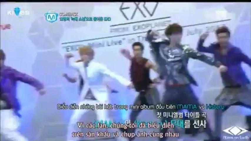 [Vietsub] 130530 Mnet Wide News - EXO [ AoE ST]