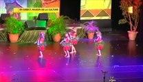 C'est l'avant-goût des concours du Heiva du mois de juillet, celui du Heiva des écoles de danse