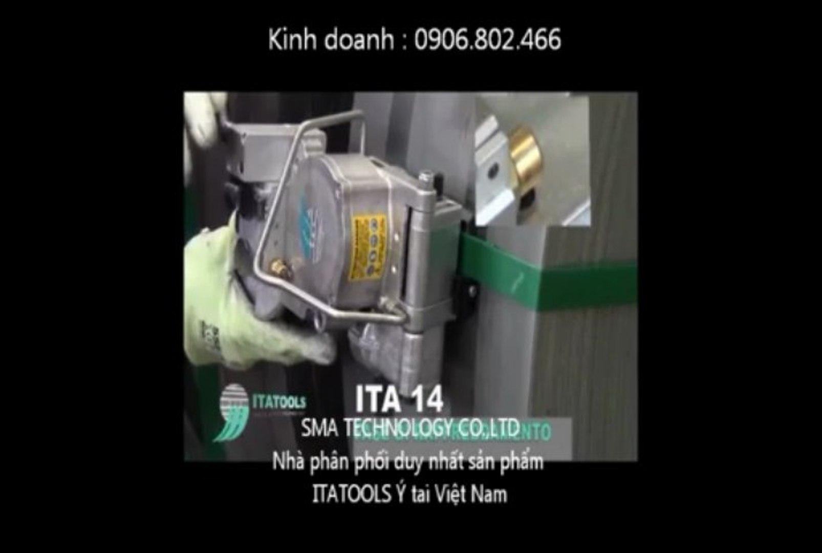ITA-14 / máy đóng đai pet / máy niềng đai pet khí nén / itatools / dụng cụ đóng đai pet
