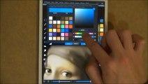La Jeune Fille à la perle sur iPad Mini