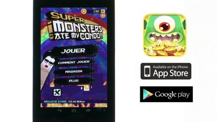 Test - Super Monsters Ate my Condo - Android (nexus 7)