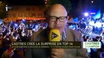 Castres champion de France :  une ville à la fête