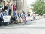 arrivée régional UFOLEP Poitou Charentes 40-49 ans La Mothe St Héray 2-06-2013