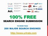 100% Free Search Engine Submission to 200+ Search Engines - Search Engine Optimization