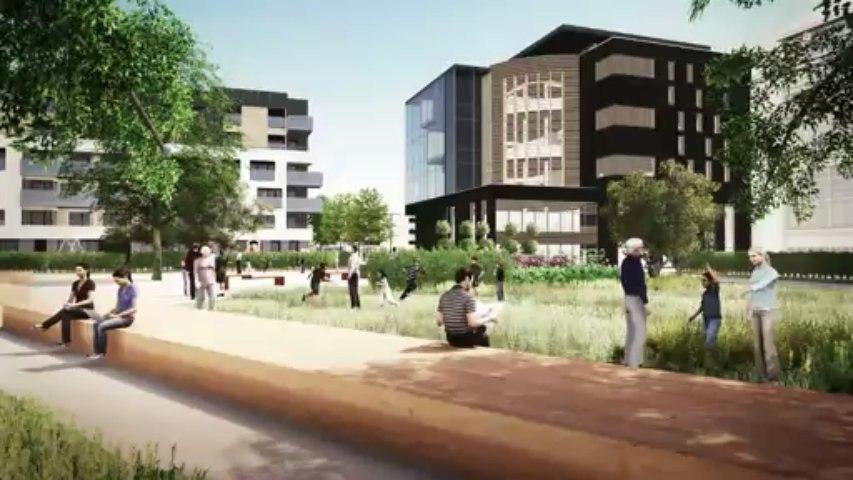 Projet de nouveau centre ville à Andenne