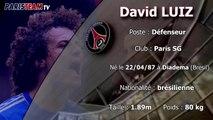 Présentation David Luiz