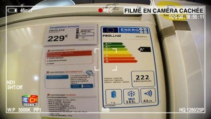 Caméra cachée congélateur - Les mauvais conseils des vendeurs